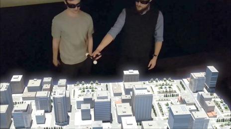 Mesa holografica